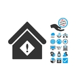 Problem Building Flat Icon With Bonus vector image vector image