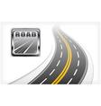 road symbol element vector image