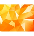 Triangular background vector image vector image