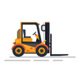 vehicle for delivery goods transportation vector image vector image
