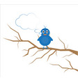 bird for kid vector image