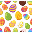 easter colorful festive eggs vector image