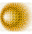 Gold design abstract vector image vector image