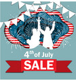 independence day sale vector image vector image