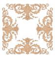 vintage baroque ornament
