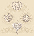happy family symbol concept vector image