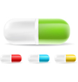 Capsule Pills vector image vector image