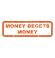 Money Begets Money Rubber Stamp vector image vector image