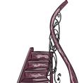 staircase a vector image