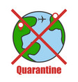 stay home pandemic covid-19 quarantine vector image vector image