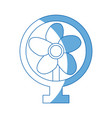 fan appliance air electricity equipment image vector image