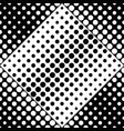 black and white seamless circle pattern background vector image vector image
