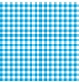 Blue checkered tablecloths patterns vector image vector image