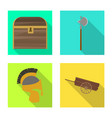 design old and culture icon set old vector image