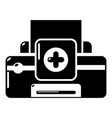 printer repair icon simple style vector image vector image