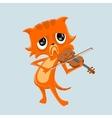 Very sad music vector image vector image