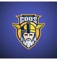Football Gods Sport Team or League Logo vector image