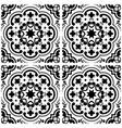 azulejos portuguese tile floor pattern lisbon sea vector image vector image