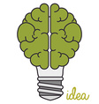 best idea vector image vector image