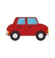 car toy kid isolated icon vector image vector image