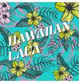 hawaiian laua vector image vector image