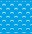home equipment for heating pattern seamless blue vector image vector image