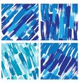 paint stripes blue 380 vector image vector image