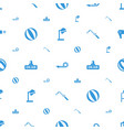 blow icons pattern seamless white background vector image vector image