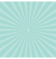 Blue sunburst starburst with ray of light Template vector image vector image