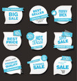 collection of sale discount and promotion banners vector image