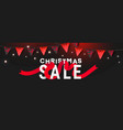 mary christmas sale background with shiny golden vector image
