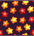 seamless texture with stars vector image