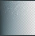 stock rain rainfall isolated vector image vector image