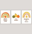 thanksgiving elements thanksgiving set pumpkin vector image vector image