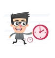 time thief vector image vector image