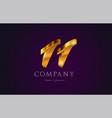 11 eleven gold golden number numeral digit logo vector image vector image
