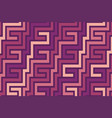 colorful seamless geometric pattern vector image vector image