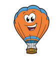 cute smiling aerostat vector image