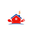 House cook food logo