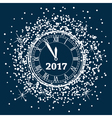 new year 2017 background vector image vector image
