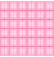 Pink Tartan Background vector image vector image