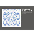 Seamless Arabian Style Abstract Pattern vector image