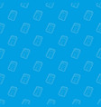 support pattern seamless blue vector image vector image