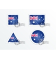 Australian flag vector image