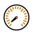 performance measurement cars speed icon vector image