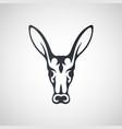 aardvark logo icon design vector image vector image
