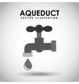 aqueduct tap vector image vector image