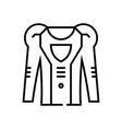 bot clothes line icon concept sign outline vector image vector image