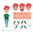 boy character for your scenes vector image
