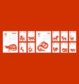 chinese paper year calendar vector image